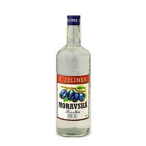 Picture of Vodka R.Jelinek Moravska Plum  40% Alc. 0.5L (Case=6)
