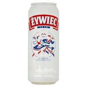 Picture of Beer Zywiec Can 5.6% Alc. 0.5L (Case=24)