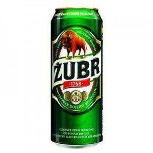 Picture of Beer Zubr Can 6% Alc. 0.5L (Case=24)
