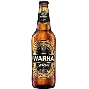 Picture of Beer Warka Strong Bottle 6.5% Alc. 0.5L (Case=20)