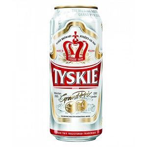 Picture of Beer Tyskie Can 5.0% Alc. 0.5L (Case=24)