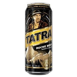 Picture of Beer Tatra Mocne Can 7% Alc. 0.5L (Case=24)