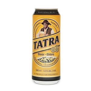 Picture of Beer Tatra Can 5.5% Alc. 0.5L (Case=24)