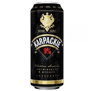 Picture of Beer Karpackie Super Mocne Can 9.0% Alc. 0.5L (Case=24)