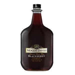 Picture of Wine Mogen David Blackberry10% Alc. 3.0L (Case=4)