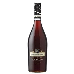 Picture of Wine Mogen David Blackberry10% Alc. 1.5L (Case=6)
