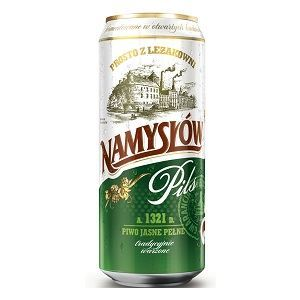 Picture of Beer Namyslow Can 6.0% Alc. 0.568L (Case=24)