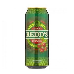 Picture of Beer Redds Cranberry Can 4.5% Alc. 0.5L (Case=24)