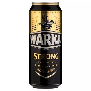 Picture of Beer Warka Strong Can 6.5% Alc. 0.5L (Case=24)