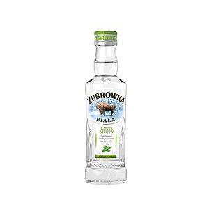 Picture of Vodka Zubrowka Mint Note 37.5% Alc. 0.2L (Case=24)
