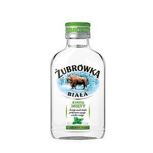 Picture of Vodka Zubrowka Mint Note 37.5% Alc. 0.1L (Case=24)
