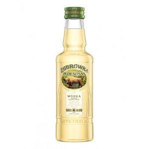 Picture of Vodka Zubrowka Pine Shoots Pedy Sosny 37.5% Alc. 0.2L (Case=24)