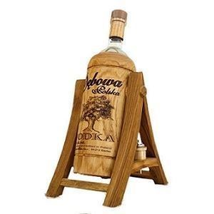 Picture of Vodka Debowa Polska in swing stand  40% Alc. 2L (Case=1)