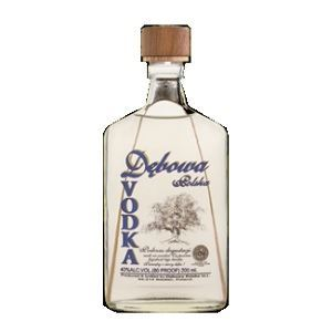 Picture of Debowa Vodka 40% Alc.Hip-Flask 0.7L