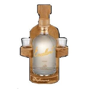 Picture of Vodka Debowa Singiel Excellent with 2 Shots 40% Alc. 0.7L(Case=6)