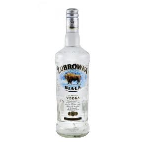 Picture of Vodka Zubrowka Biala 40% Alc. 1L (Case=6)