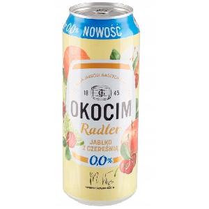 Picture of Beer Okocim Radler Apple&Cherry Can 2% Alc. 0.5L (Case=24)